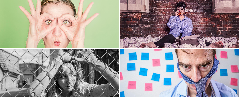 Série de portraits par Ryan McGuire – Portraits trouvés sur Gratisography, licence Gratisography (images gratuites et libres de droits).
