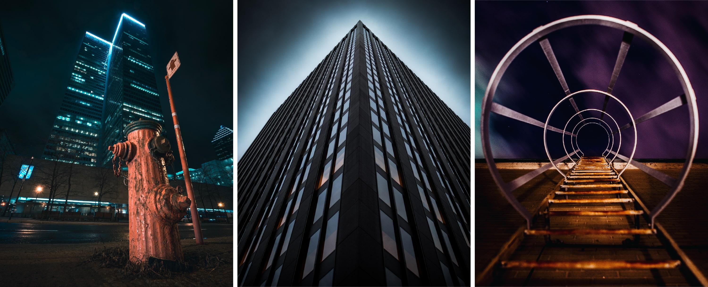 Photographies prises à Montréal par Marc-Olivier Jodoin, William Daigneault et Christophe Ferron – Série de photographies trouvées sur Unsplash, licence Unsplash (images gratuites et libres de droits).